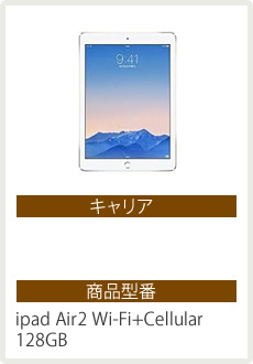 ipad Air2 Wi-Fi+Cellular 128GB